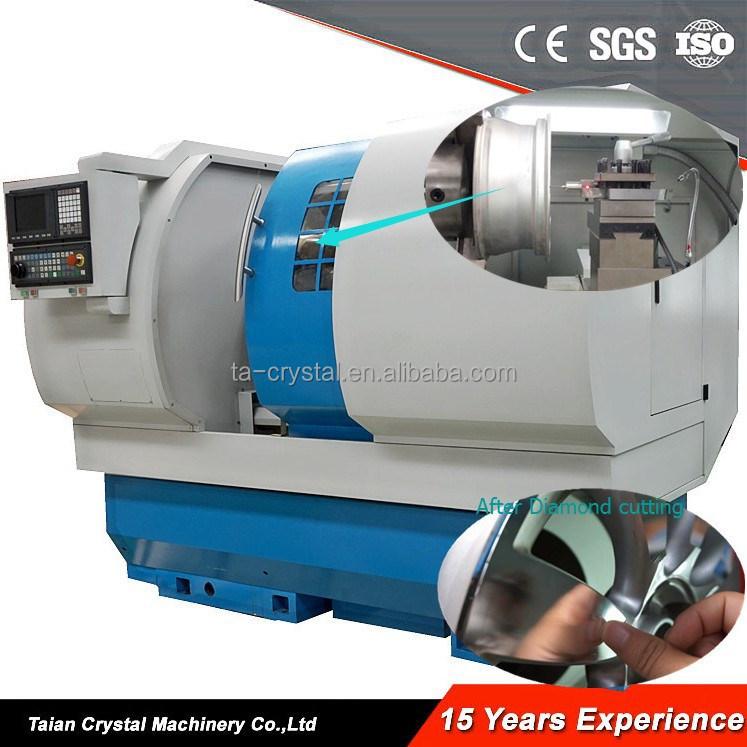 alloy wheel cut machine