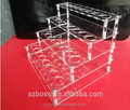 Best price high quality floor stand acrylic cosmetic display with cosmetic dispaly for sale from shenzhen
