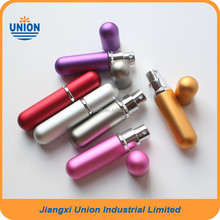 Colorful metal refillable empty perfume spray atomizer 6ml