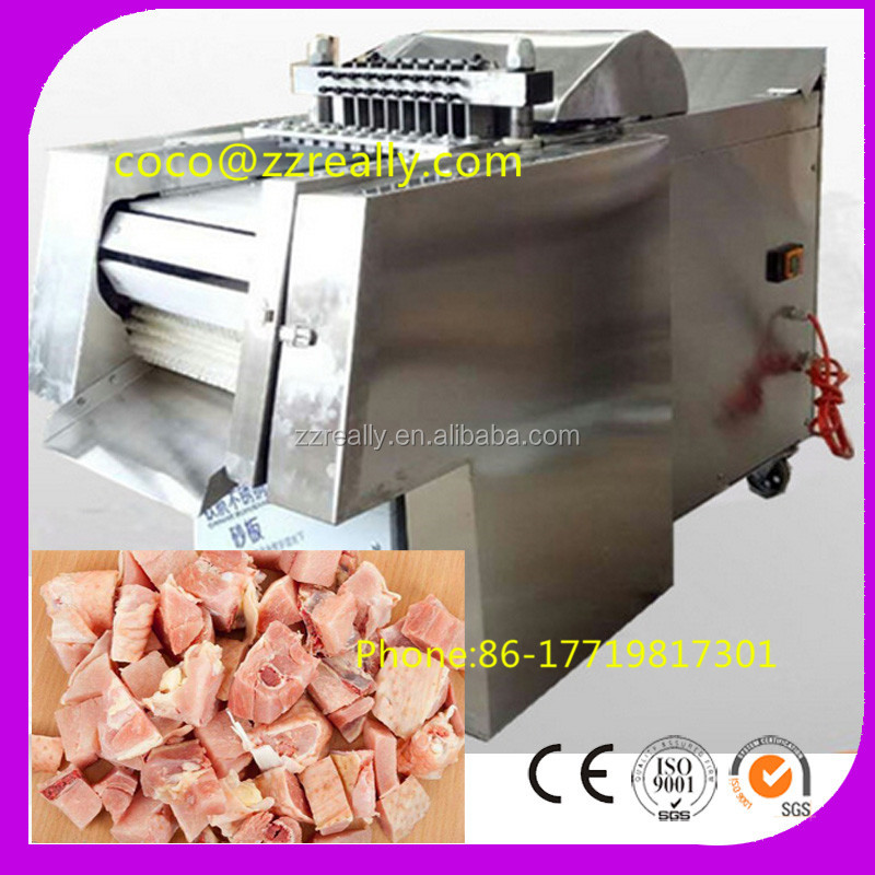 Newest High Quality Low Price Commercial automatic meat dicer Frozen Automatic Meat Dicer Machine Shredded Meat Cutter