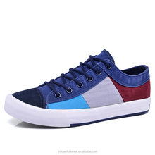 Cotton Fabric Lining Material and Spring Season cheap canvas shoes for men