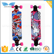 Alibaba China High End Plastic/Iron Bearing Mini Wood Skateboard