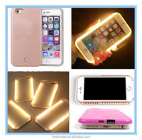LED phone case 2016 light up your face selfie phone case for iphone 5 6 6plus