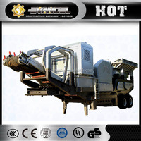 Jaw crusher 150-350 t/h mobile stone crusher plant machine price in india