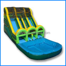 inflatable double slide lane swimming pool slide for children and adults