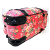 foldable trolley travel bags for girl