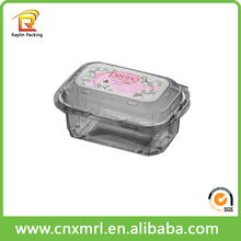 wholesale shipping plastic boxes fold up plastic box hard plastic packaging box