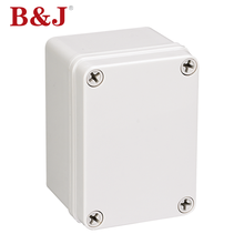 B&J Small Outdoor Electrical Abs Instrument Plastic Enclosure Electrical Junction Box
