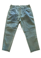 women/girls light indigo blue harem loose fit stretchy denim jeans pants