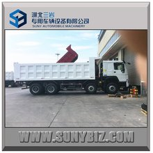 25 CBM dump truck for sale 8X4 dump truck for sand transportation