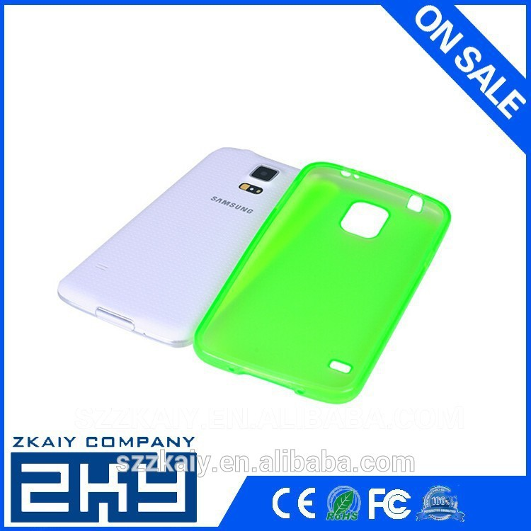 Glossy 3d sublimation blank case for samsung S4