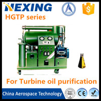 CASC technology turbine oil restoration/oil recycling system/oil purifying equipments price