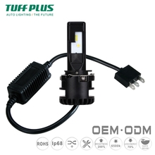 Tuffplus factory direct high power led headlight bulb H1 H4 H7 H15