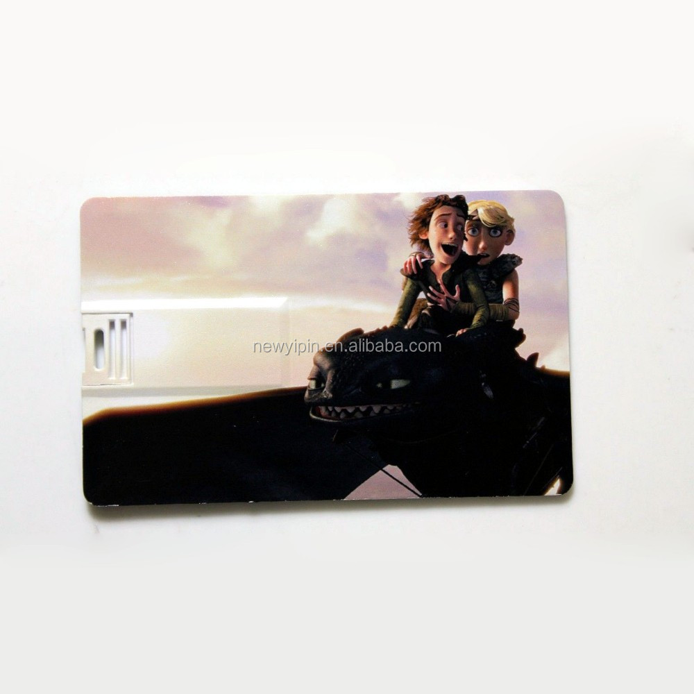 HOT SALE! New Credit Card Model 4GB-32GB USB 2.0 Memory Flash Pen Drive