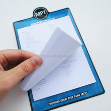 promotional gifts magnetic memo pad/magnetic notepad/magnetic sticky notes