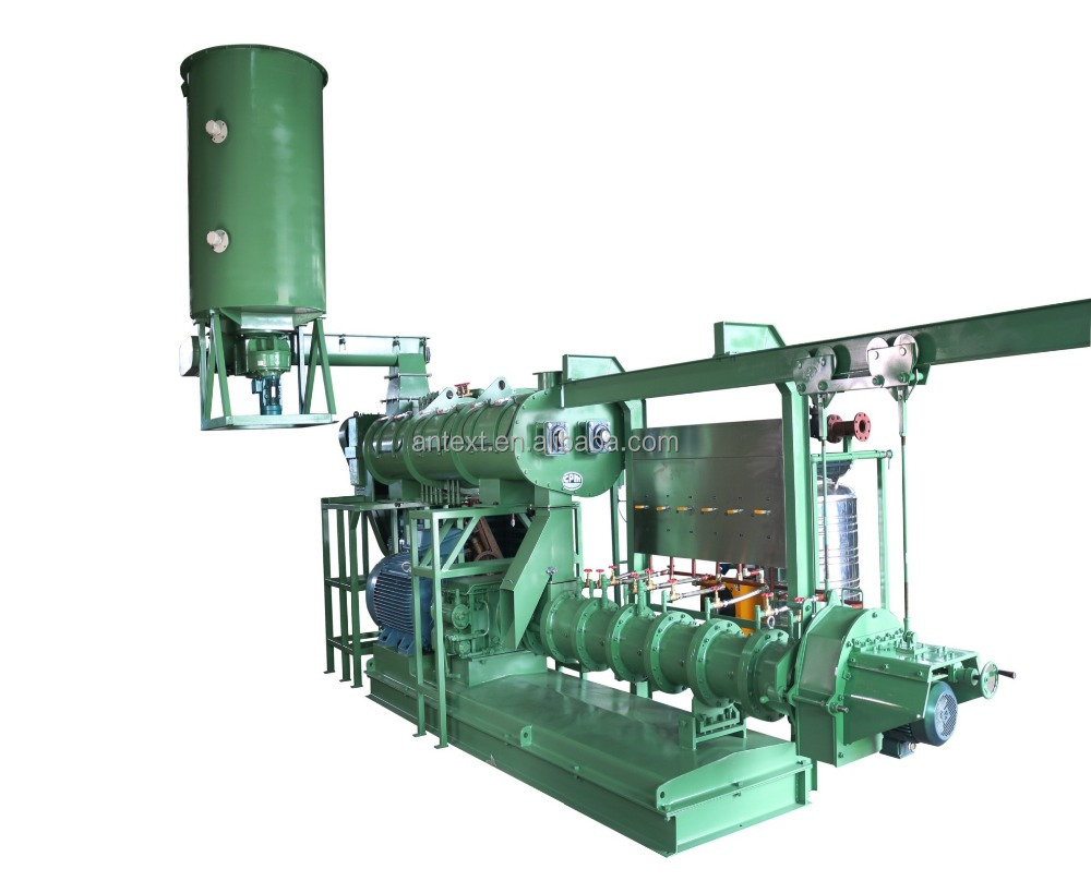 Good processing machinery floating animal pet fish food feed pellet making extruder