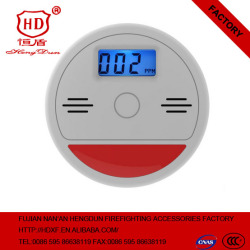 Home Security Safety CO Gas Carbon Monoxide Alarm Detectors With Retail Box CO Gas Alarm System