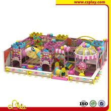Custom themed children commercial castle for hotel