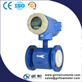 Wall mount magnetic flow meter with transmitter calibration standard