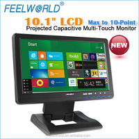 10.1 inch piccolo monitor tv lcd with capacitive touch