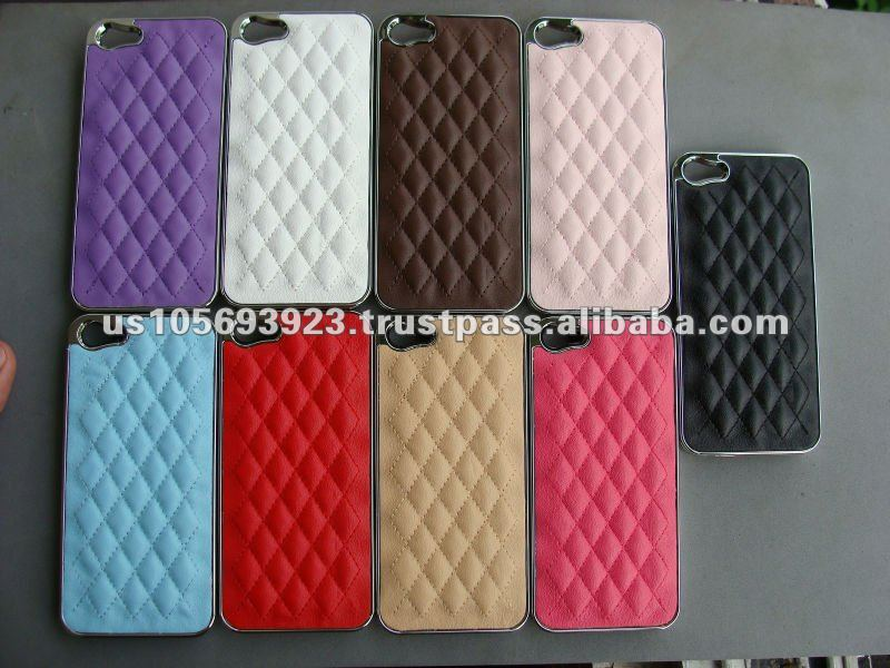 Fashion Sheep Leather Skin Cover case For Iphone5 IMPRUE