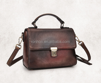 Comely Best bag Simple lady leather bag, ladies leather vanity bag sale for lady