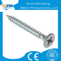 OEM Stainless Steel 304 316 drywall screw with Cross countersunk head