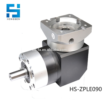 HS-ZPLE090 Right angle precision servo planetary gearbox for servo motor