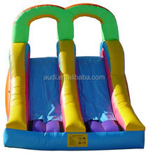 inflatable bouncy castle with slide for kids