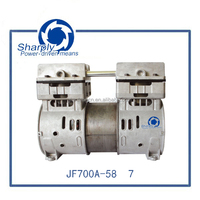 surgical suction pump foot 700kap pressure capacity oil free vacuum pump(JF700A-58/7),750w power for industrial air compressor