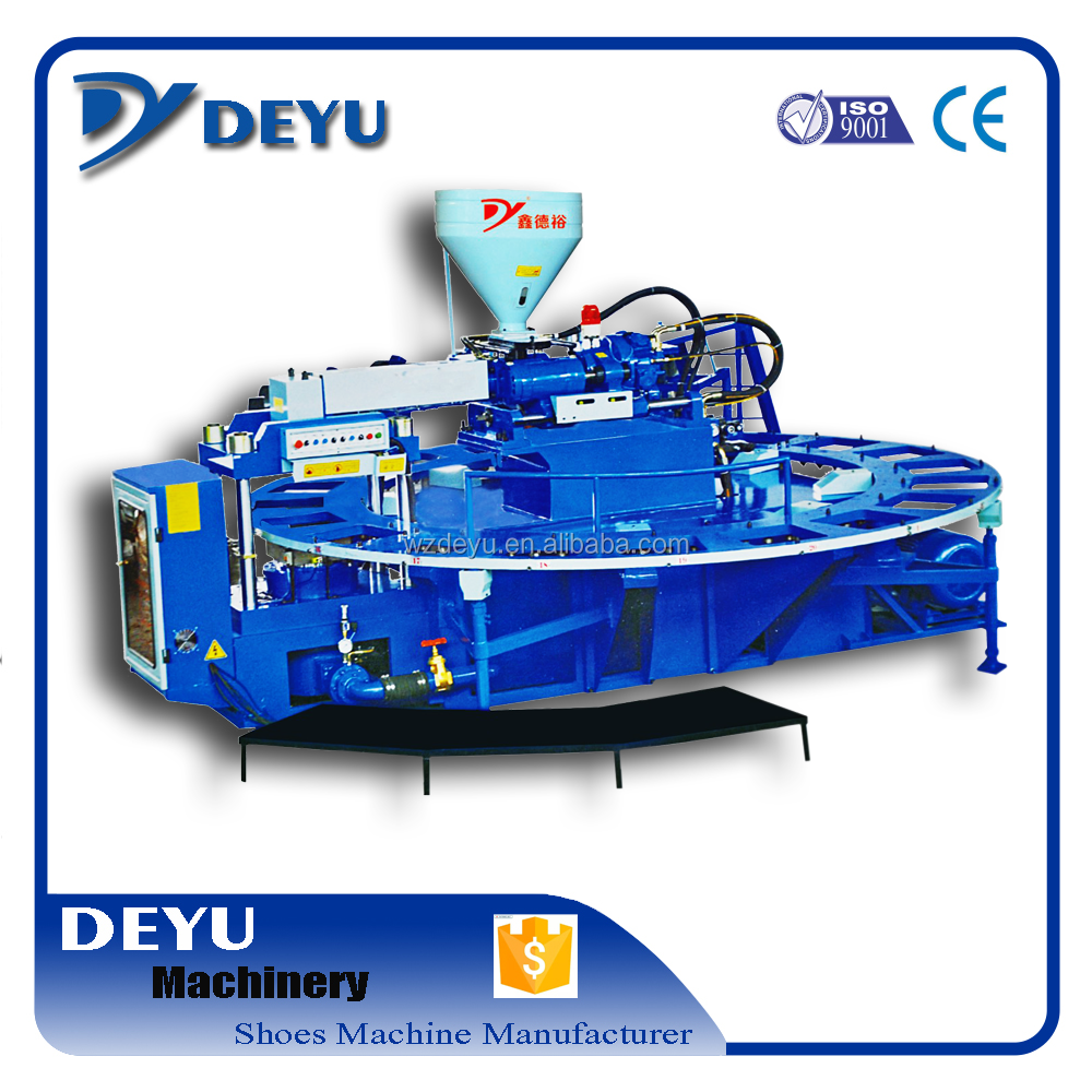 Hot Sell Deyu PVC Sole Injection Machine