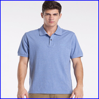 Latest fashion design slim fit polo shirt wholesale high quality asian size men's polo t shirt