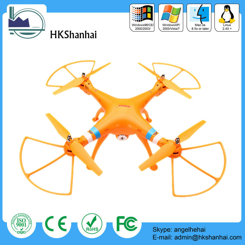 Hot offer rc quadcopter 4CH 6-axis airplane drone syma x8w