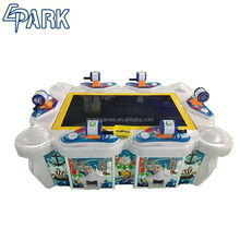 Coin operated amusement fishing shooting game machine for sale