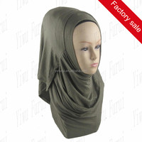 Wholesale Muslim Plain Jersey Hijab 2