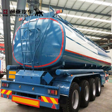 3/4 Axles 50000 Petroleum Bitumen Transport Tank Semi Truck Trailer