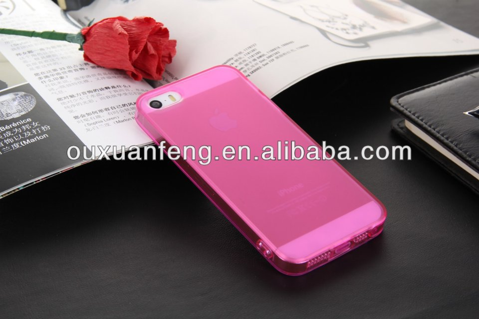 Soft Back Case Cover Skin Protector Mobile Phone Case For Iphone4s