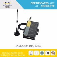 F2103 gsm modems RS232 gsm gprs DTU modem (Data Terminal Unit) for street light control