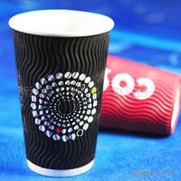 ripple wall coffee paper cup,beautiful wall paper,disposable cups for hot drinks