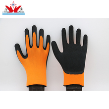 13 Gauge Polyester Or Nylon Cut-resistant Wholesale Foam Latex Dacron Gloves Customizable Color Hand job Safety/Safeguard Gloves