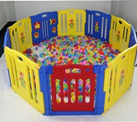 High Quality Square baby folding playpen Top Sales