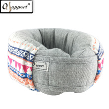 China Qsupport Supplier Manufacture High Quality Custom Travel Neck Pillow for Correcting Cervical Spine A10