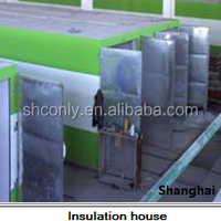 high performance fire proof professional automatic foam cement board production line concrete machine