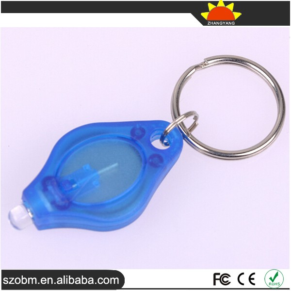 Keychain UV Light Mini Promotional Gift Flashlight,Money Detector function 395~400nm UV Light LED Keychain Flashlight