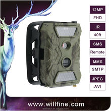 Hot seller 12MP 1080P HD infrared SMS MMS GPRS hunting camera wildlife game camera