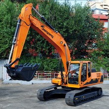 Excellent performance middle tracked hydraulic excavator with competitive price