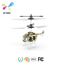 XY-503 China Flying Mini RC Infrared Induction Aircraft Helicopter Toy with Flashing Light