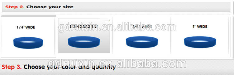 bulk cheap silicone wristbands with debossed ink filled
