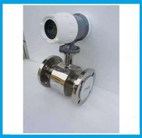 fuel/sewage/armored water electromagnetic flow meter price with 4-20mA output
