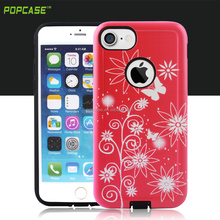 china products sublimation clear Gummy combo mobile accessories for iphone 7 case
